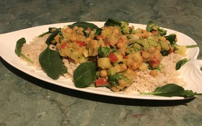 Quick Vegetarian Curry